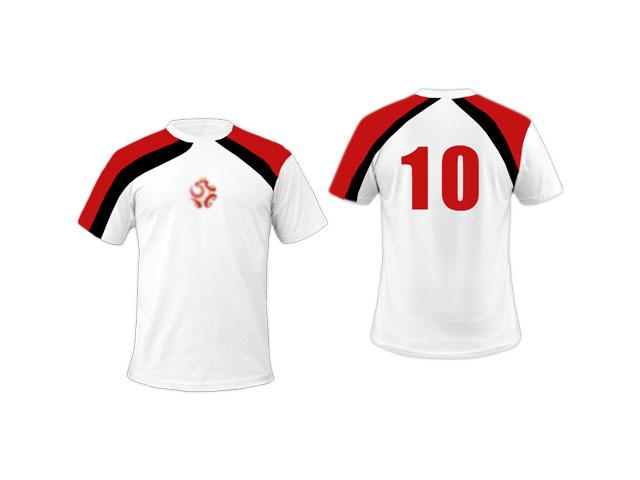 989201acc93a44 ... Koszulki piłkarskie z nadrukiem przód + tył - asyNET REKLAMY I STRONY  INTERNETOWE RADOMSKO ...
